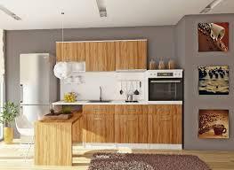 La Cuisine Bois Brut Adopte Un Look Design Moderne