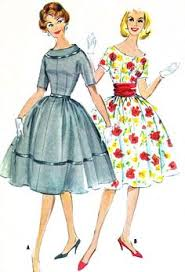 Retro Dress Patterns Mesmerizing 48 Best Vintage Patterns Dresses Images On Pinterest Vintage