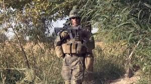 One Shot One Kill Marine Scout Sniper Kills A Taliban Sniper Youtube