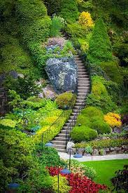 garden stairs beautiful gardens