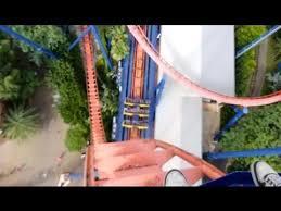 sheikra roller coaster front row pov at busch gardens ta