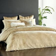 vapor full queen duvet cover gold exclusive donna karan bedding discontinued