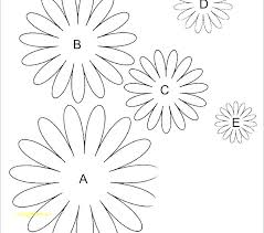 Girl Flower Template Printable Pattern Free Large Daisy
