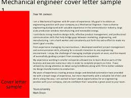 Resume Cover Letter Samples For Mechanical Engineers Adriangatton Com