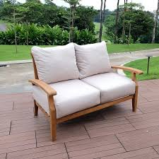 birch heritage teak with cushions reviews outdoor furniture without lane clearance patio furniture no cushions