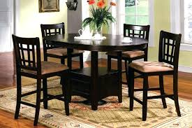 counter height dining room furniture sets round counter height dining sets bar height dining table