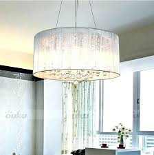 drum ceiling light hot shade crystal chandelier pendant fixture lighting lamp fixtures