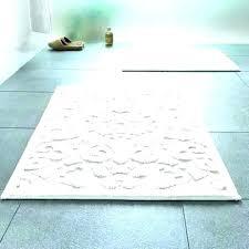 bath rug runner long rugs bathroom collection in extra sunham lagoon chenille solid 22 x 60 bath rug runner