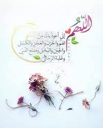 اللهم إني أعوذ بك من الهم والحزن والعجز والكسل والجبن والبخل وضلع الدين  وغلبة الرجال