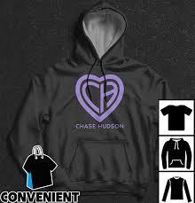 Hudson Designer Shirts Chase Hudson Ch Heart Logo T Shirt Long Sleeve Sweatshirt Hoodies