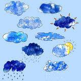 Bildresultat för sol, åska, regn och mulet