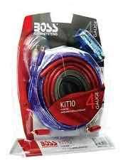 awg multi car audio amplifier kits boss audio kit 4 gauge amp amplifier install wiring power sub car subwoofer kit