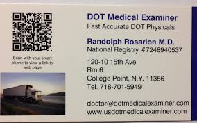 Dot Physical Exam Driver Qualification Requirements