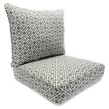 Manufacturing Poet Gray Deep Seat Patio Chair Cushion at Lowes