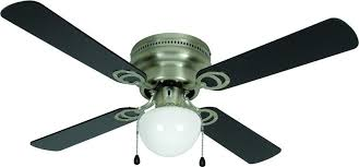 hardware house 543611 aegean flush mount 42 inch ceiling fan with optional light fixture