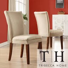 dining room chairs cherry upholstered. with their elegant microfiber upholstery and warm cherry-finished wooden legs, these padded dining room chairs upgrade the look of any room. cherry upholstered