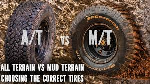 All Terrain vs Mud Terrain, best tyres - YouTube