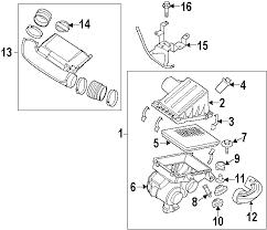 parts com® nissan pathfinder engine appearance cover oem parts diagrams 2006 nissan pathfinder se off road v6 4 0 liter gas engine appearance cover