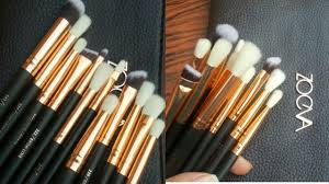 zoeva brushes review best eye makeup brushes for begginers zainbab numan