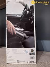 Máy hút bụi cầm tay mini không dây Baseus Vacuum Clean Phụ kiện giá tốt