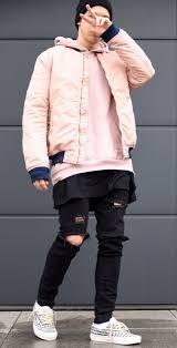 Light Pink Jacket Men