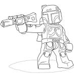 Звездные войны картинка раскраска