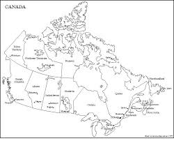 canada free outline maps on printable map of the united states and estern canada