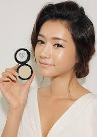 dewy makeup look