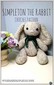 Free Crochet Bunny Pattern Amazing Crochet Amigurumi Bunny Toy Free Patterns Instructions