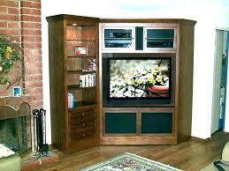 mission style corner tv stand – irem