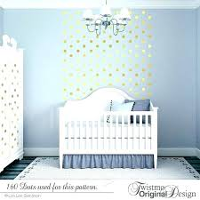 gold polka dot wall decals dots baby nursery decor uk sticker decal removable home decoration art golden polka dots wall sticker baby