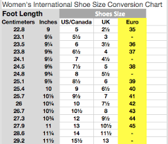 Shoe Width Chart Inches 39 Ageless Foot Measurement Shoe Size Chart