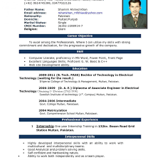 Example Word Documents Sample Resume Cover Letterord Doc Biodata Format In Document