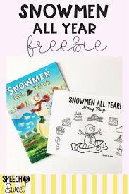A Freebie For Snowmen All Year