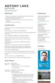electrician resume samples   visualcv resume samples databaseelectrician resume samples