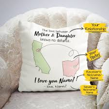 Long Distance Light Up Pillow For Sale Personalized Custom Long Distance Relationship Gift Ideas