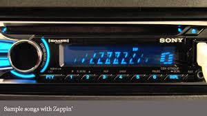 sony cdx gt565up cd receiver display and controls demo sony cdx gt565up cd receiver display and controls demo crutchfield video