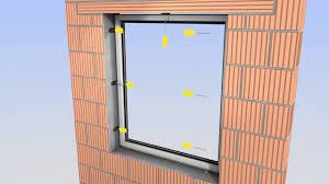 Mechanische Befestigungstechnik Für Die Fensterrahmen Montage Sfs