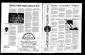 1981-10-15 - Baldwin Wallace: Exponent (Student Newspaper) - Ohio Private  Academic Libraries - Digital Collections