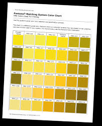 Pantone Color Chart Vegas Gold Best Picture Of Chart