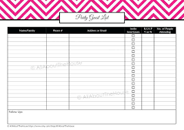 Contacts List Template Simple Guest List Excel Spreadsheet Template Crugnalebakeryco