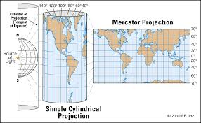 Mercator Projection Definition Uses Limitations