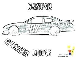 Nascar Coloring Pages Roomhiinfo