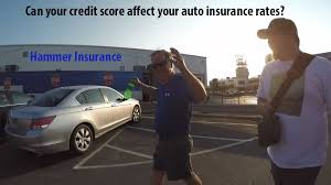 why is my credit score important for auto insurance