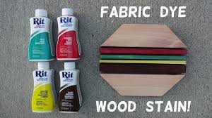 Red wood stain Color How To Stain Wood With Fabric Dye Keda Dye How To Stain Wood With Fabric Dye Youtube