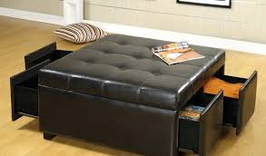 square leather ottoman coffee table square leather ottoman coffee table fresh designs bi cast leather storage