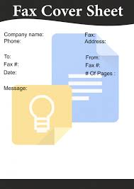 How To Use Google Docs Fax Cover Sheet Fax Cover Sheet