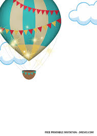 There is a quicker and easier way to get your dreams invitations when you think like you need an extremely powerful choice. Hot Air Balloons Invitation Free Download Vector Psd And Stock Image