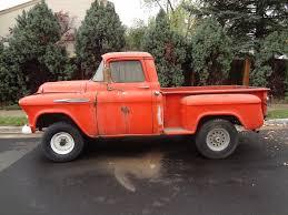 VERY RARE BARN FIND 1957 Chevrolet NAPCO 4x4 1/2 Ton Short Bed ...