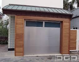 dynamic garage doorsContemporary 04  Custom Architectural Garage Door  Dynamic